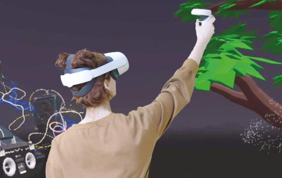 HAN introduceert VR in Vaktherapie'Digitale koudwatervrees snel overwonnen'